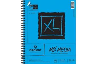 (23cm  x 30cm ) - Canson XL Multi-Media Paper Pad, 60 Sheets