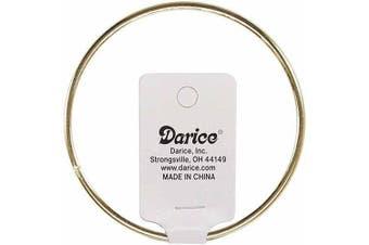 (30cm ) - Darice Metal Macrame Ring, Gold