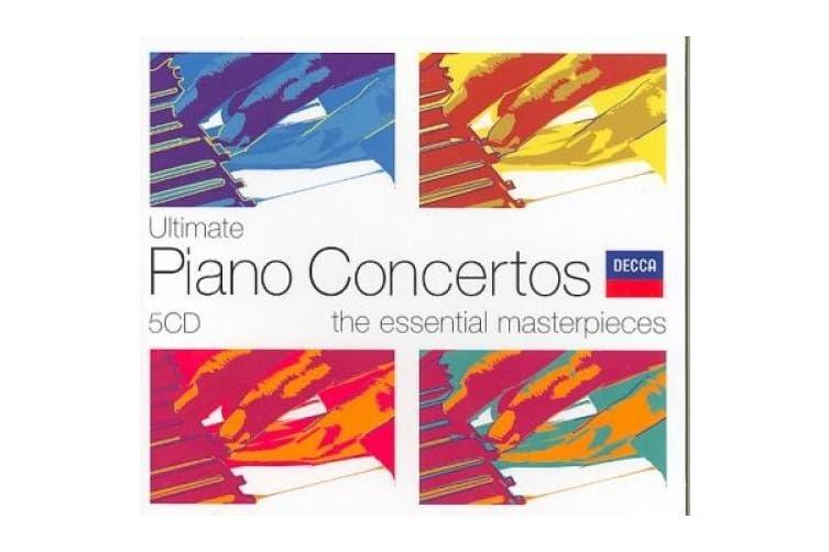 Ultimate Piano Concertos  [5 Discs]