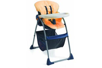Italbaby Universal High Chair PVC Cover, Orange, Multi-Colour, One Size
