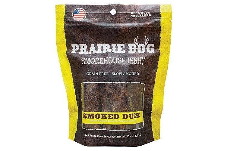 Prairie Dog Pet Products Smokehouse Jerky, 440ml, Smoked Duck