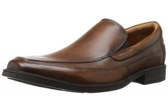 (9.5 UK, Dark Tan) - Clarks Men's Tilden Free Slip-On Loafer
