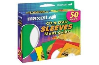 (N/A) - Maxell 190134 CD401 CD/DVD Storage Sleeves
