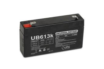 MK ES1.2-6 Patriot (6V 1.3Ah) 6V 1.3Ah Wheelchair Battery - This is an AJC Brand® Replacement