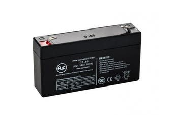 MK ES1.2-6 (6V 1.3Ah) 6V 1.3Ah Wheelchair Battery - This is an AJC Brand® Replacement