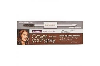 Daggett & Ramsdell Cover Your Grey C 2-in-1 Mascara Wand & Sponge Tip Applicator, Dark Brown