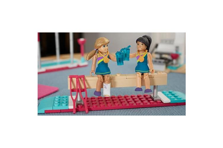 Mega Construx American Girl McKenna's Floor Routine Construction Set