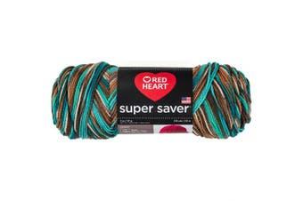(Reef) - Red Heart Super Saver Yarn, REEF