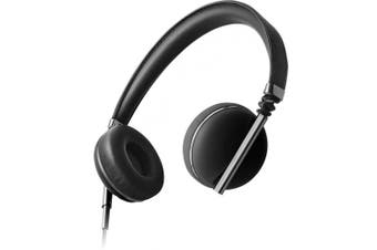 Caeden Linea N°1 On-Ear Headphone, Convex Carbon & Gunmetal