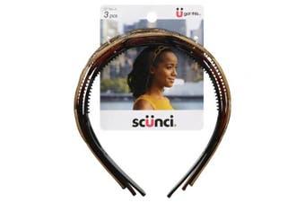 Scunci, Headbands, Assorted 3 pieces