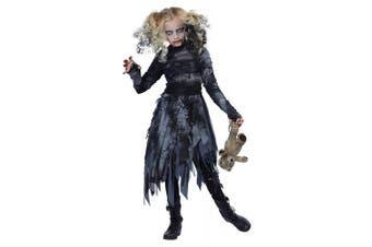 (Large) - california costumes zombie girl child costume, large