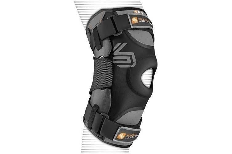 (s) - Shock Doctor Ultra Knee Support /Bilateral Hinges - Adult (Black)
