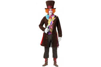 Electric Mad Hatter Adult Costume - Plus Size 1X