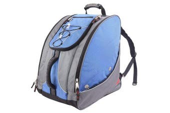 (Glacier Blue) - Athalon Everything Boot Pack Bag With Shoulder Straps Waterproof Travel Bag