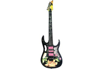 Axe Heaven Steve Vai Signature Lotus Jem Mini Guitar Replica Collectible