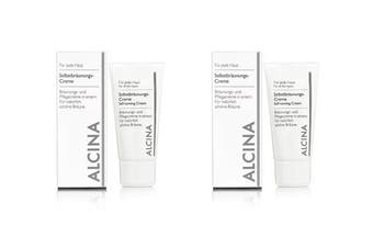 Alcina Self-Tanning Cream 2x50ml