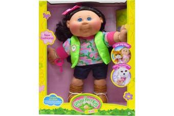 (Adventure) - Cabbage Patch Kids Adventure Doll, Brown Hair/Blue Eye Girl