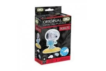 (Snoopy Astronaut) - BePuzzled 3D Crystal Puzzle - Peanuts Astronaut Snoopy