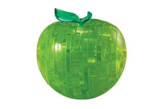(Apple (Green)) - 3D Crystal Puzzle, Green Apple