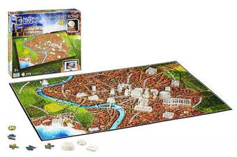 (Ancient Rome) - 4D Cityscape Inc 4D National Geographic Ancient Rome Puzzle Puzzle