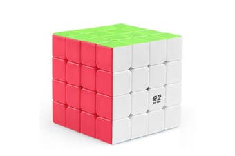 coogam qiyi 4x4 speed cube stickerless puzzle toy (qiyuan s version)