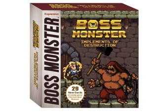 Brotherwise Boss Monster Card Game: Implements of Destruction