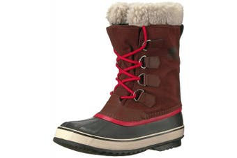 (5.5 UK, Red (Redwood/Candy Apple)) - Sorel Winter Carnival Women's Snow Boots