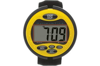 (N/A, Yellow) - Optimum Time Unisex Ultra Ultimate Event Watch