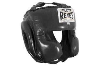 (Large, Black) - Cleto Reyes Classic Training Headgear, Large