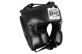 (Small, Black) - Cleto Reyes Classic Training Headgear, Small