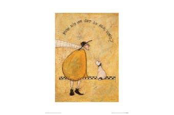 (Paper) - The Art Group How Did We Get So Old, Doris Sam Toft Art Print, Paper, Multi-Colour, 30 x 40 x 1.3 cm