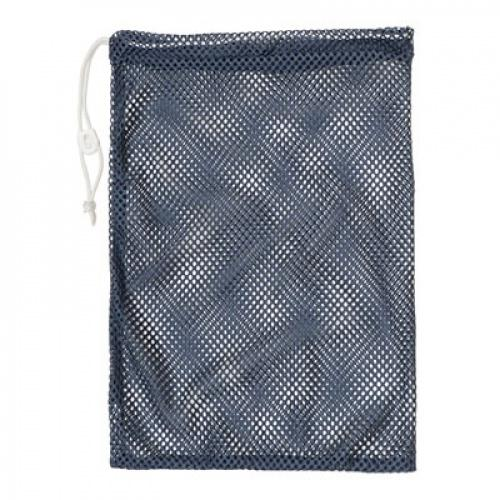"""(12  X 18 , Navy) - Champion Sports Durable Mesh Drawstring Sports Equipment Bag – Multiple Colours and Sizes Style Name: 12"""" X 18""""Colour: Navy"""