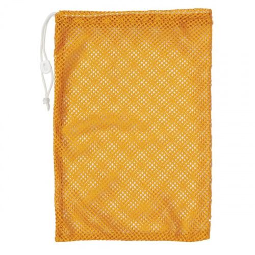 """(12  X 18 , Gold) - Champion Sports Durable Mesh Drawstring Sports Equipment Bag – Multiple Colours and Sizes Style Name: 12"""" X 18""""Colour: Gold"""