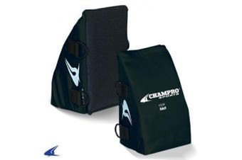 (Adult, Navy) - Champro Catcher's Knee Support (Navy, Adult)