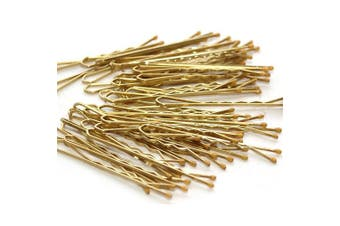 120x Blonde Bobby Pins Medium 5cm