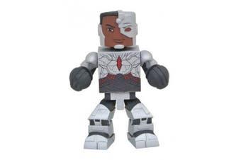 DC Comics JUL172794 Justice League Movie Cyborg Vinimate Figure