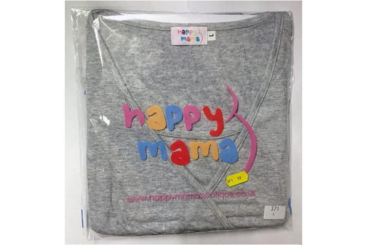 (16/18 UK, Short Length Black) - HAPPY MAMA Women's Maternity Pants. Available in 3 Leg Lengths. 691p