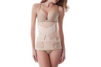 Aigori 3 in 1 Postpartum Support Recovery Belly Waist Pelvis Belt C Section Recovery Belt Body Shaper Postnatal Shapewear