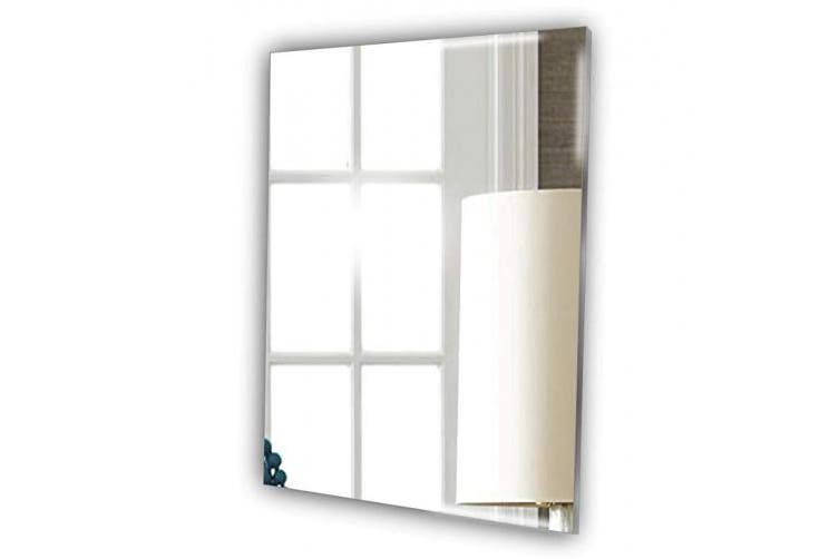 15cm Frameless Rectangle Bathroom, Lightweight Bathroom Mirror