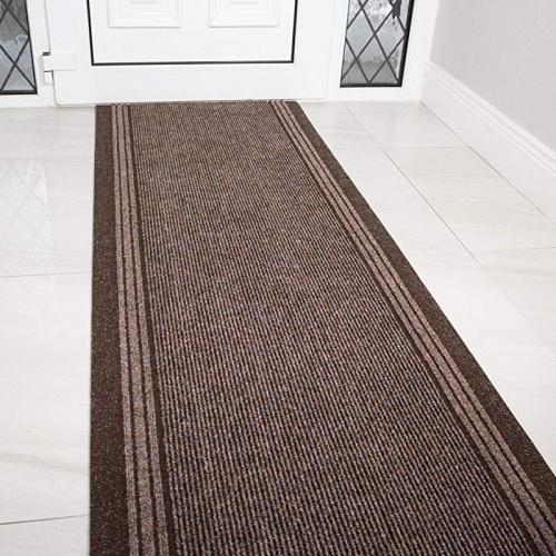 Gray Rubber Backed Anti Slip Washable Extra Long Hallway Hall Runner Narrow Rugs