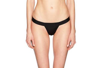(Medium, Black) - Norma Kamali Women's Bikini Bottoms