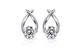 (Earrings) - B.Catcher Stud Earrings Cubic Zirconia 925 Sterling Silver Cute Fish Earring Studs Women Jewellery Gifts