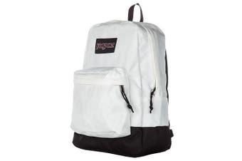 (White - Black Label) - Jansport Black Label Superbreak Backpack, White