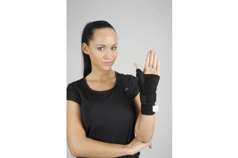 (Size 2 (21-27 cm)) - Wrist Support with Thumb Splint Hand Brace Helps Carpal Tunnel Syndrome, Tendonitis Adjustable for Right Left Hand (Size 2 (21-27 cm))