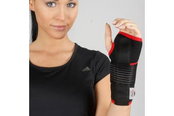(S1 (15 - 21 cm)) - Neoprene Wrist Support - Carpal Tunnel Hand Brace Support Sprain Arthritis Pain Thumb Breathable NHS Strain (S1 (15 - 21 cm))