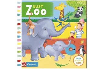Busy Zoo (Busy Books) [Board book]