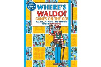 Where's Waldo? Games on the Go!: Puzzles, Activities, and Searches (Where's Waldo?)