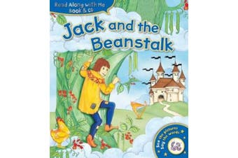 Jack & the Beanstalk (Read Along with Me Book & CD)