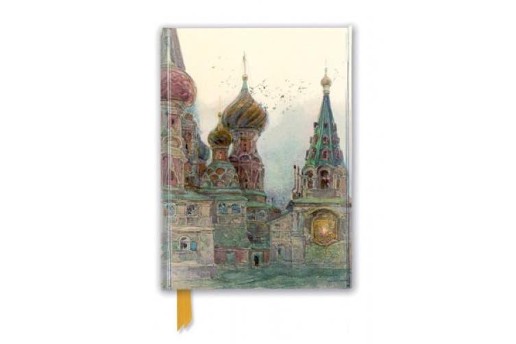 George Kossiakoff: St Vasili, Moscow (Foiled Journal) (Flame Tree Notebooks)