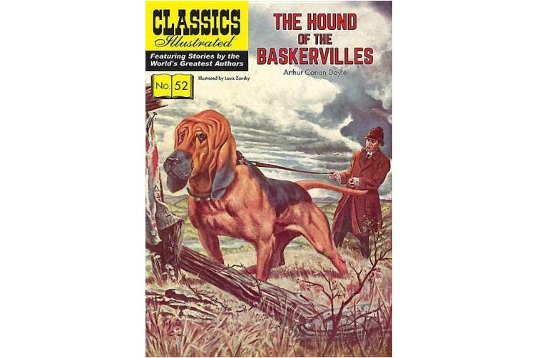Hound of the Baskervilles (Classics Illustrated)